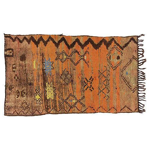 Vintage Sahara Tribal Rug