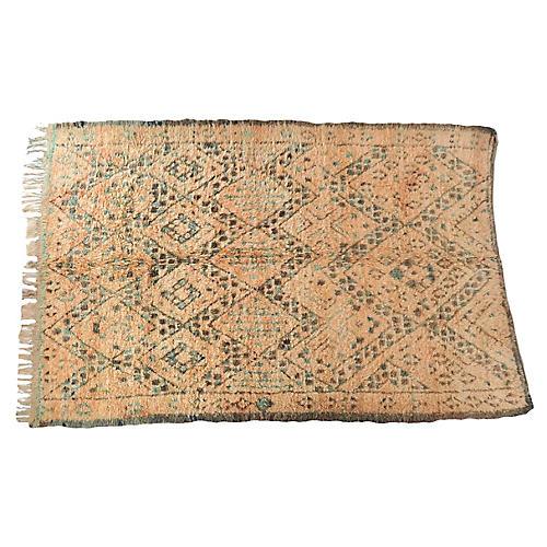 Vintage Moroccan Zion Rug