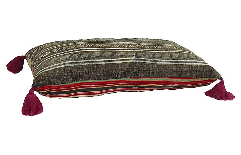 Extra Large Saharan Kilim Floor Pillow