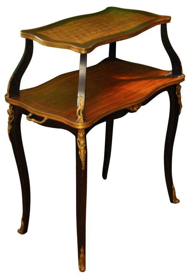 19th-C. French Tea Table