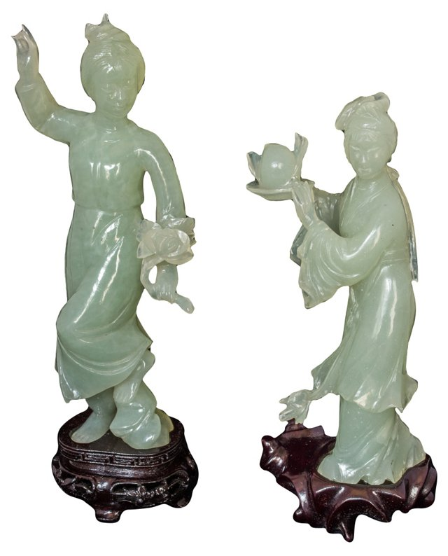 Jade Women, Pair