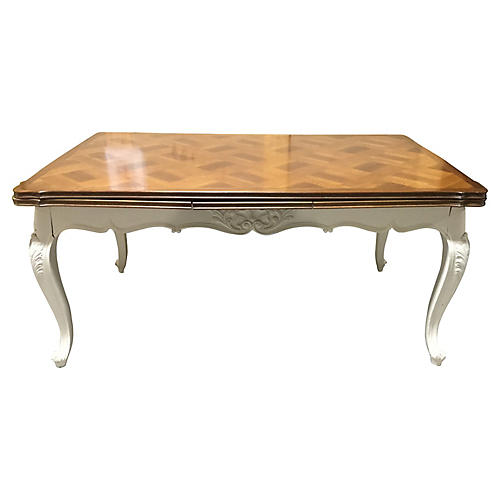 French Painted Refectory Table
