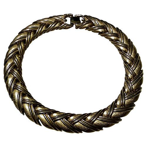 Givenchy Wheat Link Choker