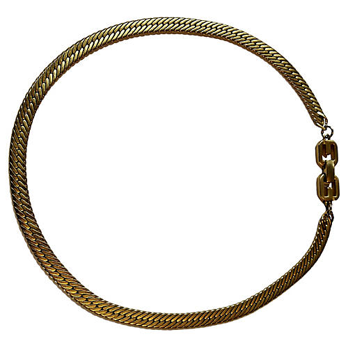 1980s Givenchy Chain Choker