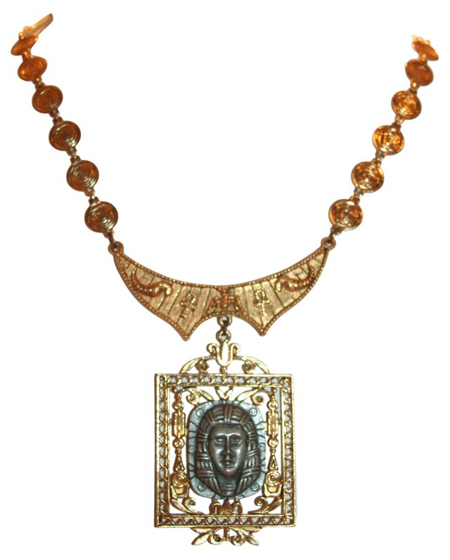 Egyptian Revival Necklace by ART