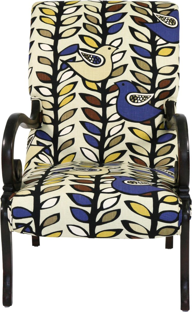Partridge & Scrolls Chair
