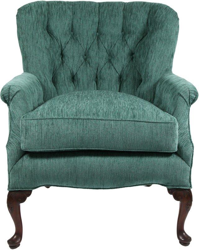 Chenille Armchair