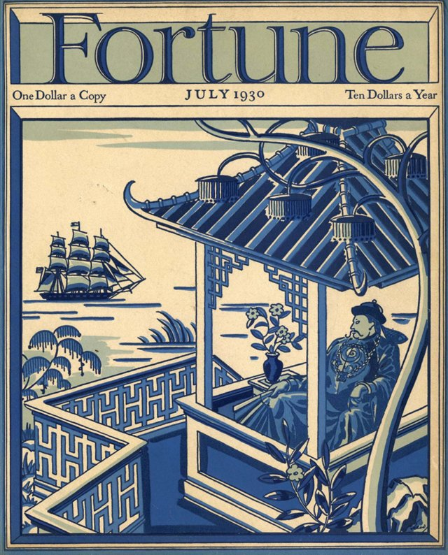 Fortune Magazine Cover, July 1930