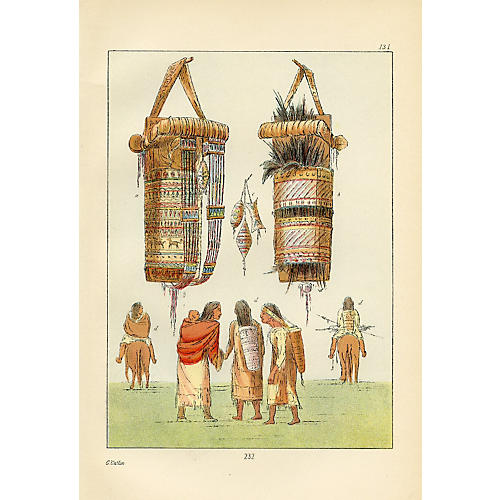 Sioux Indian Cradles