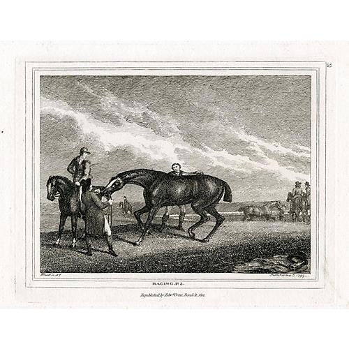 Racing Engraving, 1812