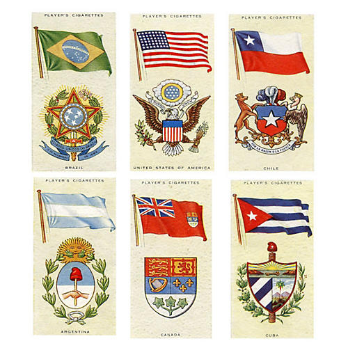 National Flags of the Americas, 1936