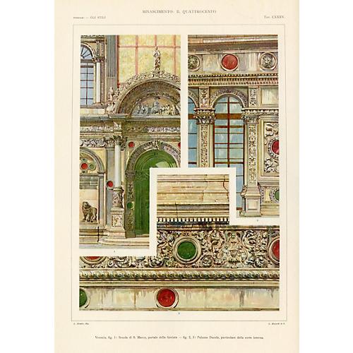 Venetian Architectural Details