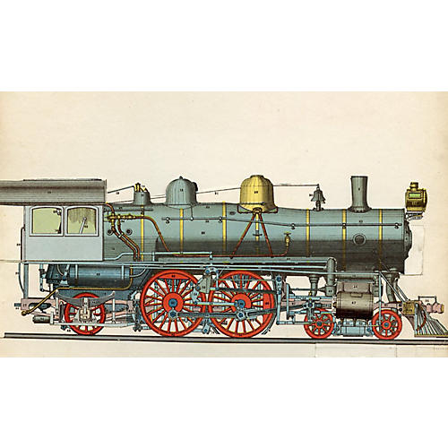Design for a French Locomotive, 1913