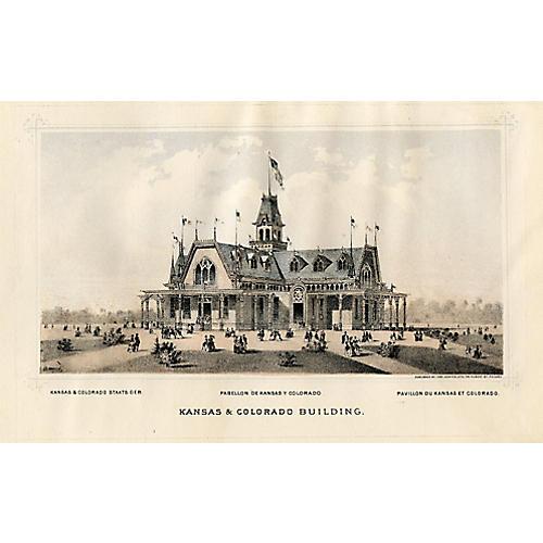 Kansas & Colorado Centennial Expo, 1876