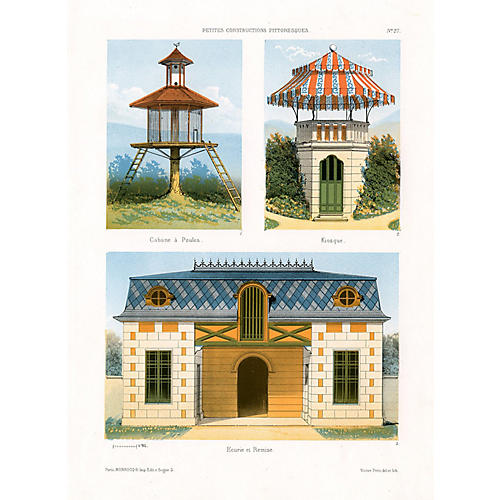 French Rural Architecture, C. 1860