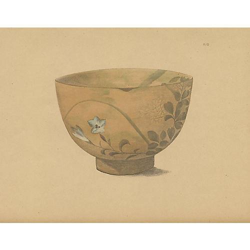 Japanese Pottery Bowl, 1890