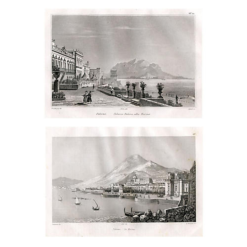 Views of Sicily, Pair