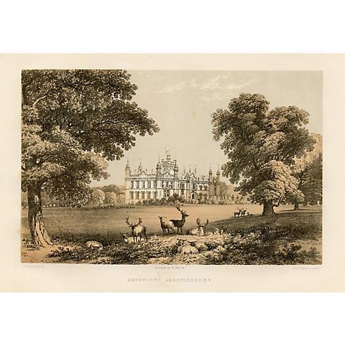 Knebworth House, Hertfordshire, 1881