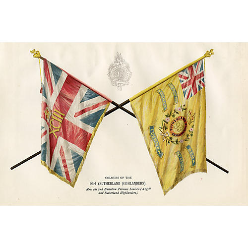 Scottish Regimental Flags