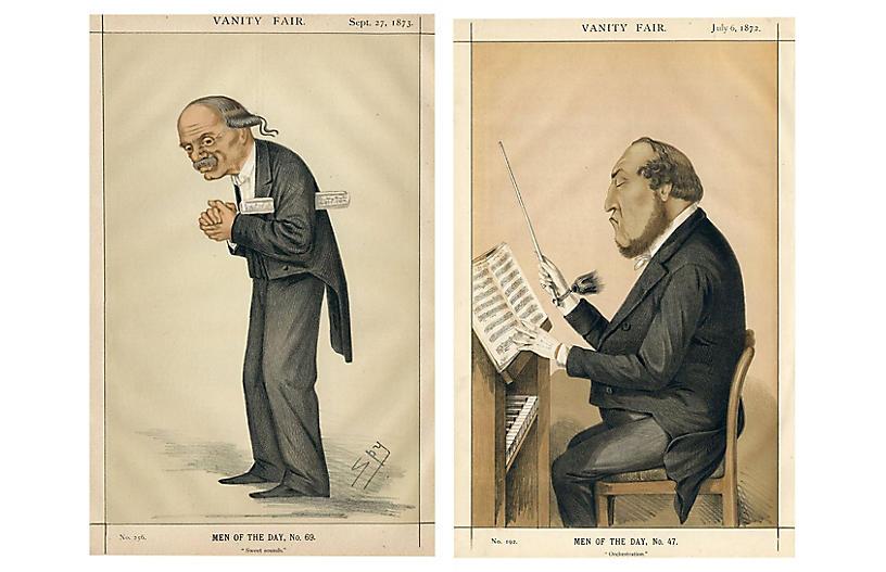 British Men of Music, Pair