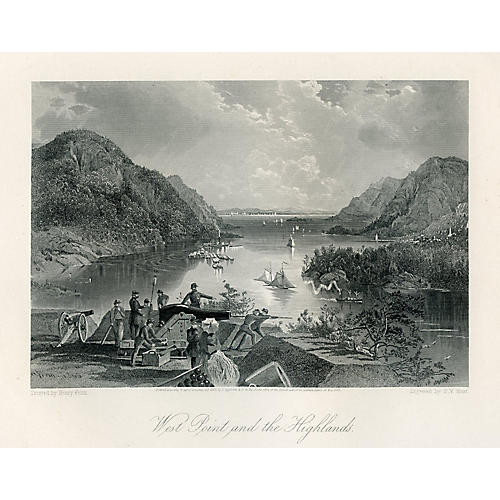 West Point & the Highlands, 1872