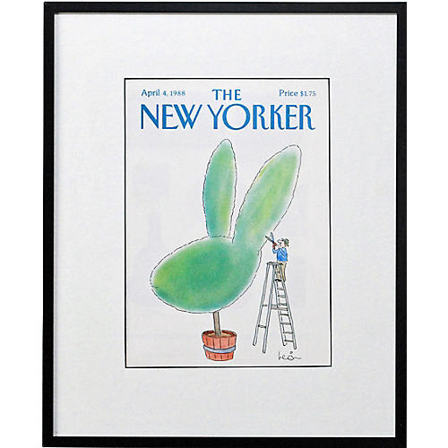 Easter Topiary, 1988
