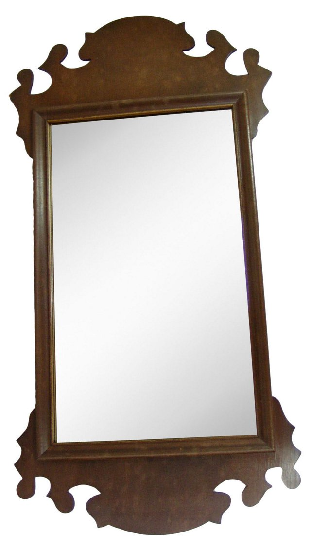 Chippendale-Style Wall Mirror