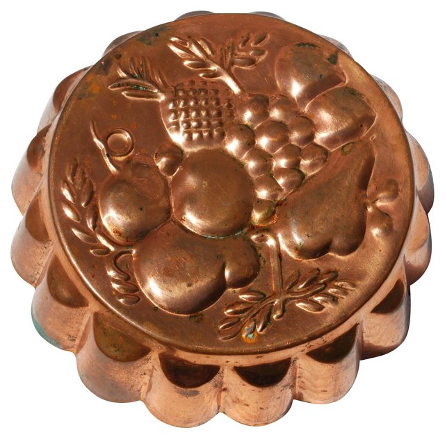 Copper Fruit Food Mold