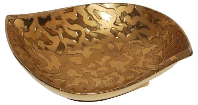 Gilded Porcelain  Bowl