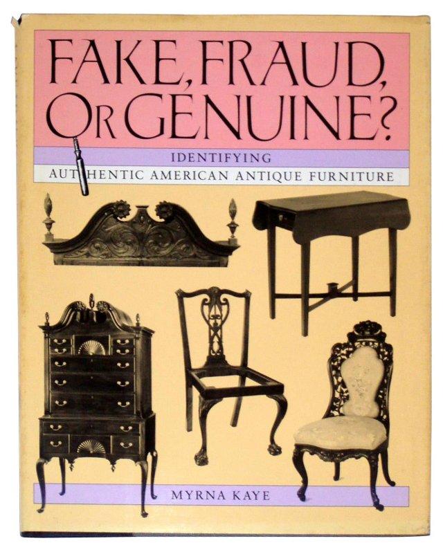 Fake, Fraud, or Genuine?