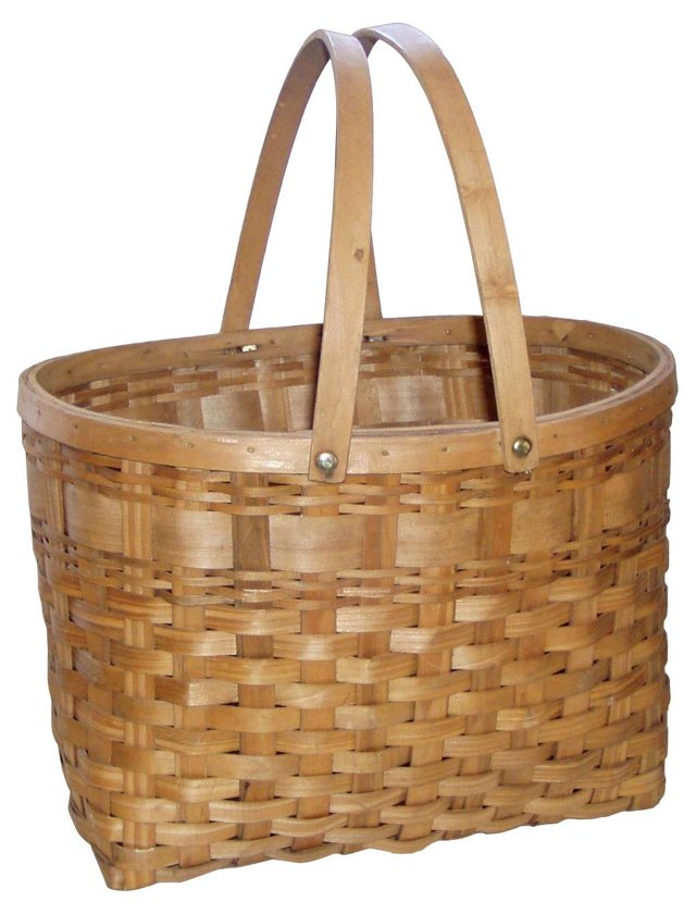 Tall Gathering   Basket