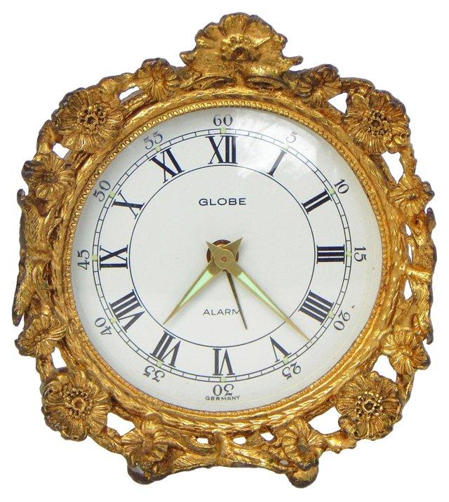 Ormolu Alarm Clock