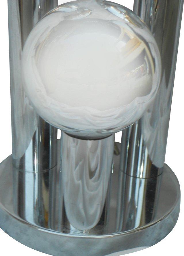 Chrome 3-Tier Lamp