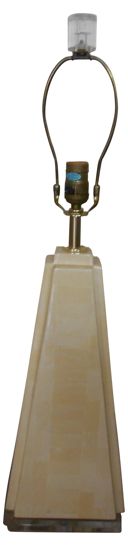 Bone Pyramid Lamp