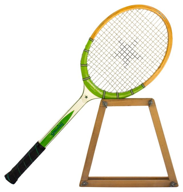 Tennis Racquet, Rosemary Casals