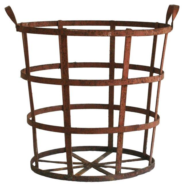 French Vintner's Basket
