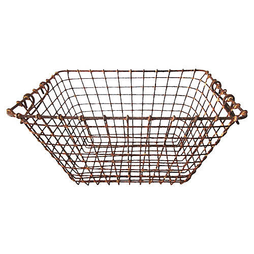 Belgian Fishing Basket