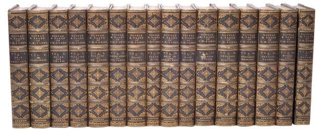 Leather Yonge Novels, 16 Vols