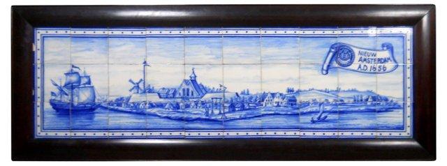 Delft Tile Plaque