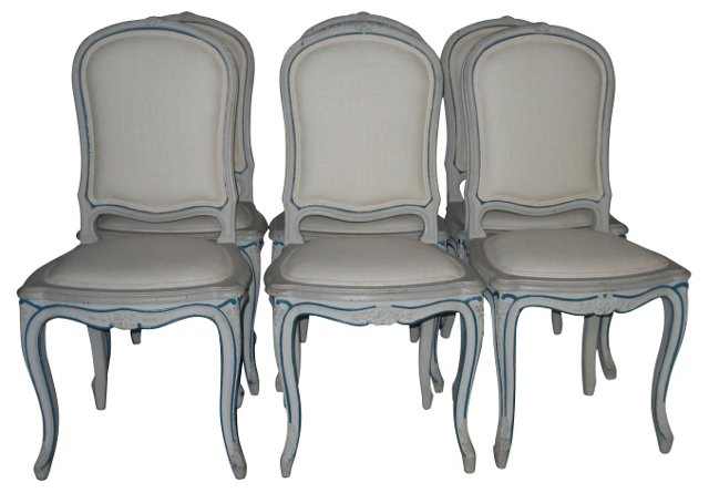Louis XV-Style   Chairs, S/6