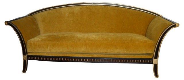Regency-Style   Sofa