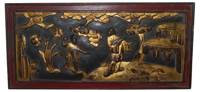 Asian Wall Plaque
