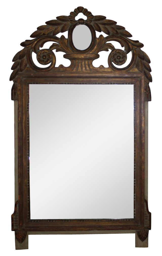 Italian Leaf Mirror
