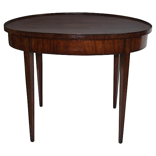 19th-C. Sheraton-Style Side Table