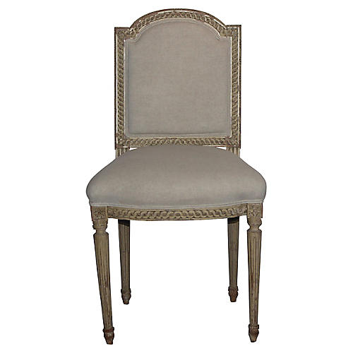 Louis XVI-Style Side Chair