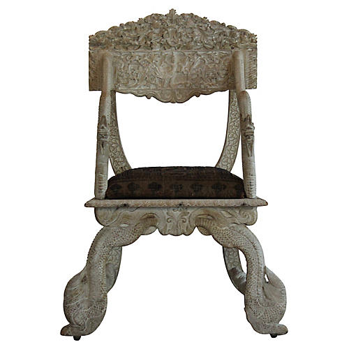 Antique Asian Chair