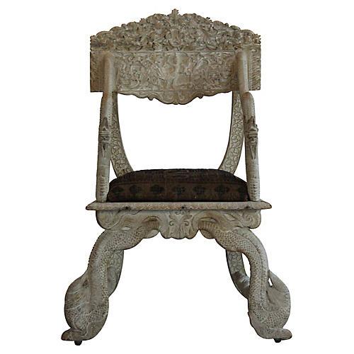 Antique Asian Chair