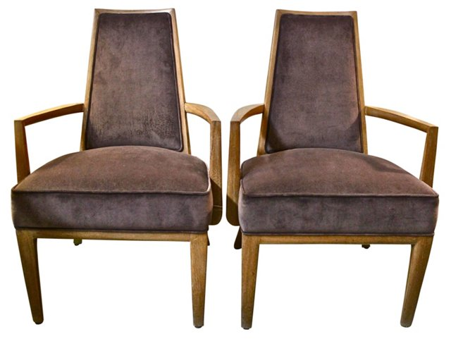 Monteverdi-Young Lounge  Chairs,  Pair