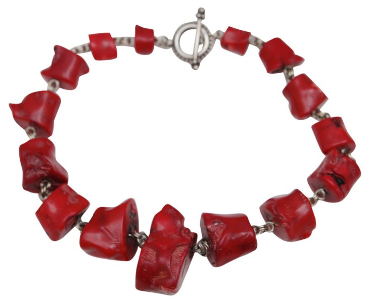 Stephen Dweck Coral Necklace
