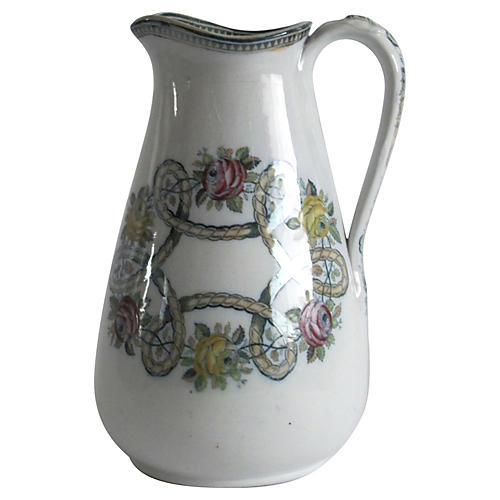 English Cream Pitcher
